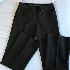 Express brown editor pants.
